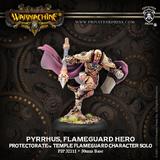 Warmachine: Protectorate of Menoth Pyrrhus, Flameguard Hero Unit