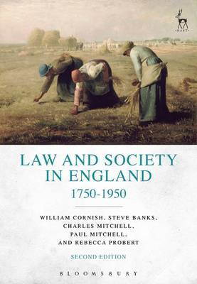 Law and Society in England 1750-1950 by Rebecca Probert image