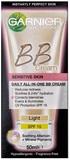 Garnier Miracle Skin Perfector BB Cream for Sensitive Skin - Light (50ml)