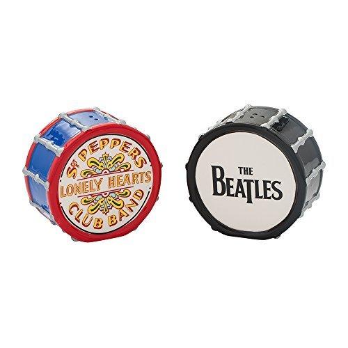 The Beatles: Ceramic Drums - Salt and Pepper Set