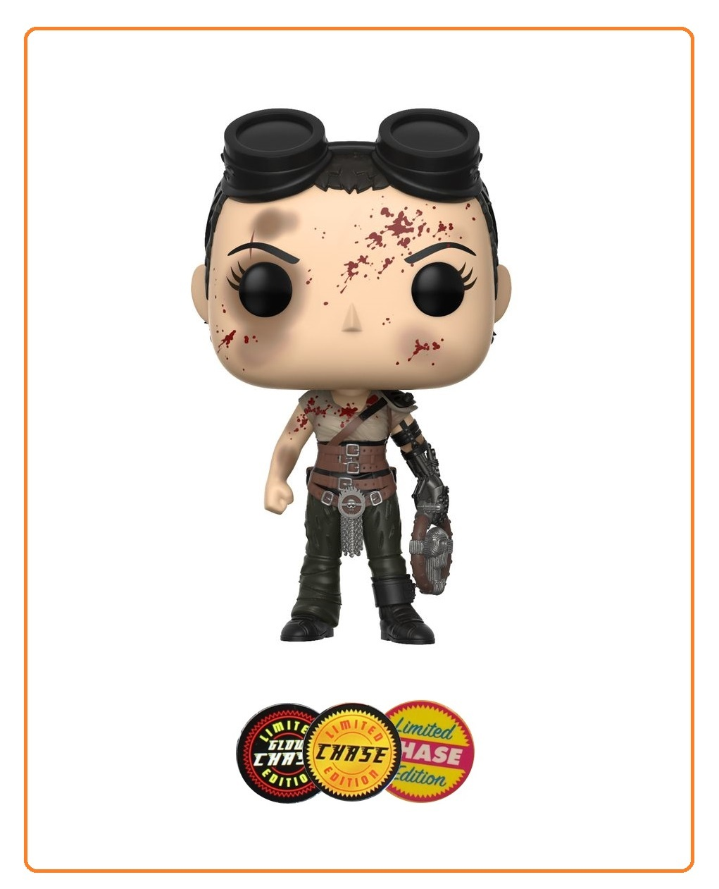 Mad Max: Fury Road - Furiosa Pop! Vinyl Figure (with a chance for a Chase version!) image