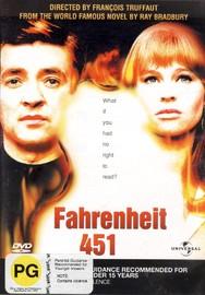 Fahrenheit 451 on DVD image