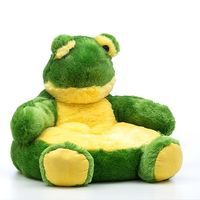 Children's Stuffed Animal Armchair - Frog