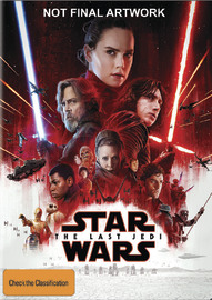 Star Wars: Episode VIII - The Last Jedi on DVD