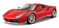 Maisto: 1:18 Die-Cast Vehicle - Ferrari 488 GTB (70th Anniversary)