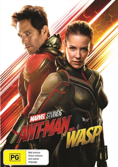 Ant-Man and the Wasp on DVD image