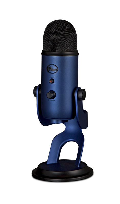 Blue Microphones Yeti Multi-Pattern USB Microphone (Midnight Blue) for
