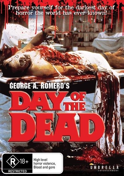 Day Of The Dead on DVD
