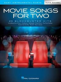 Movie Songs for Two Alto Saxes by Hal Leonard Corp