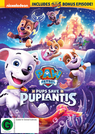 Paw Patrol: Pups Saves Puplantis on DVD