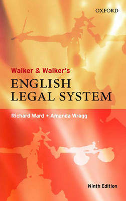 Walker and Walker's English Legal System by Richard Ward image