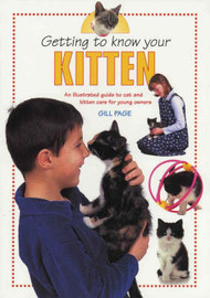 Getting To Know Your Kitten by Gill Page image