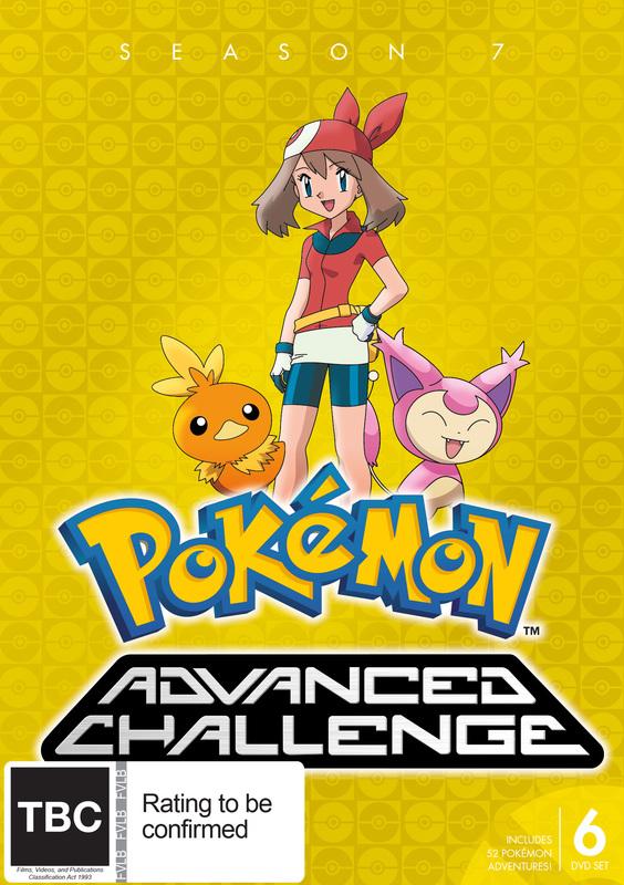 Pokemon Advanced Challenge - Season 7 on DVD