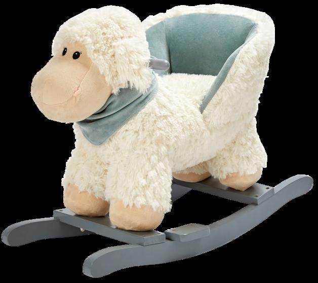 Rocking Lamb Chair