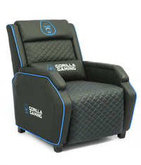 Gorilla Gaming Sofa - Black & Blue for