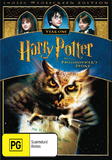 Harry Potter and the Philosopher's Stone - 1 Disc (New Packaging) DVD