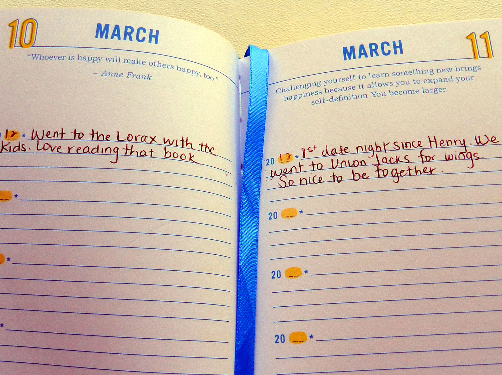 The Happiness Project One-Sentence Journal: A Five-Year Record image
