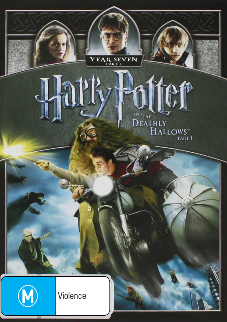 Harry Potter and the Deathly Hallows: Part 1 on DVD image