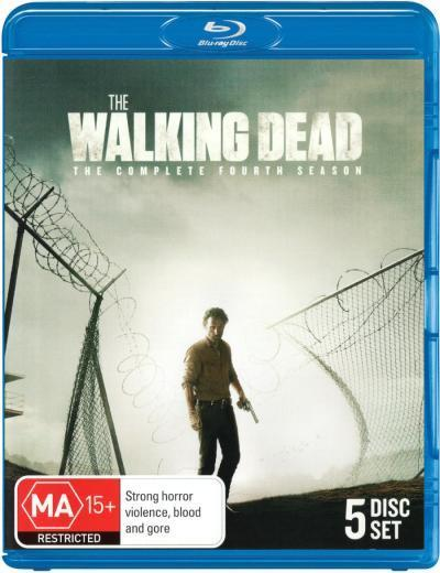 The Walking Dead - The Complete Fourth Season on Blu-ray image