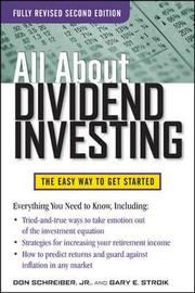 All About Dividend Investing, Second Edition by Don Schreiber