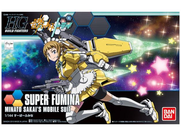 HG 1/144 Super Fumina - Model Kit