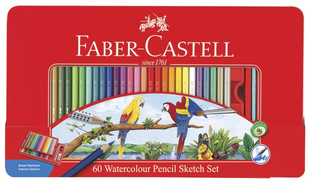 Faber-Castell: Watercolour Sketch (Set of 60)