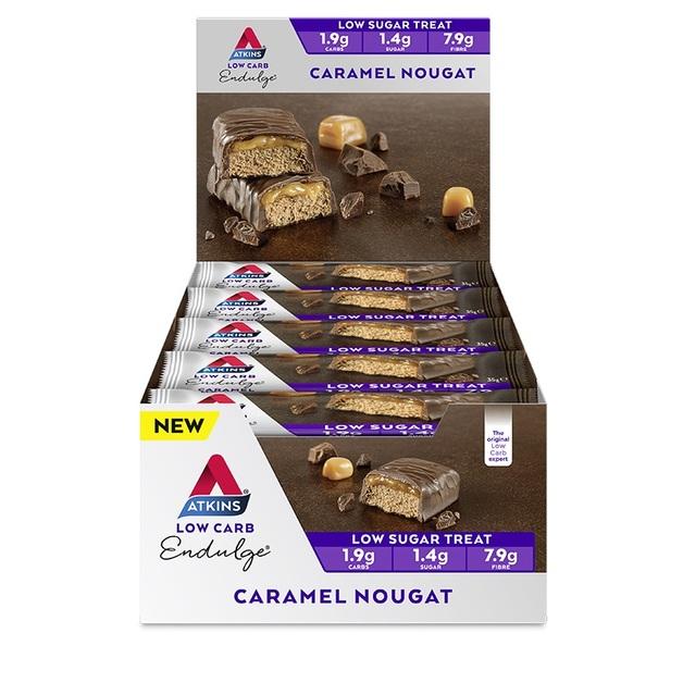 Atkins Endulge Bars - Caramel Nougat (15 x 34g)