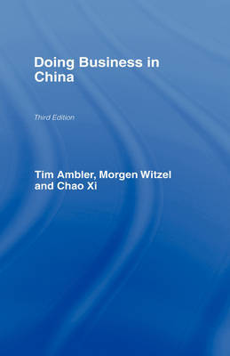 Doing Business in China by Tim Ambler image