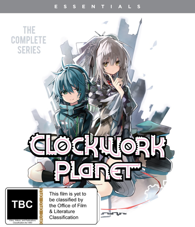 Clockwork Planet - The Complete Series on Blu-ray