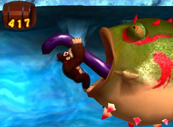 Donkey Kong: Jungle Beat with bongos for GameCube image