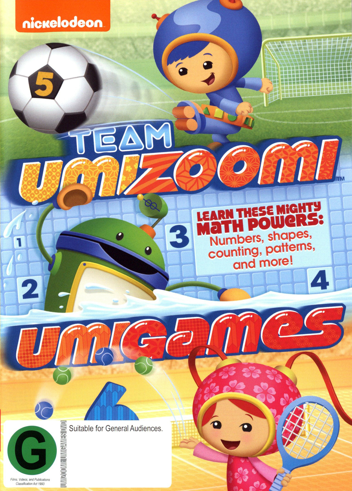 Team Umizoomi: Umigames on DVD image