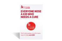Cure Kids Red Nose Pin