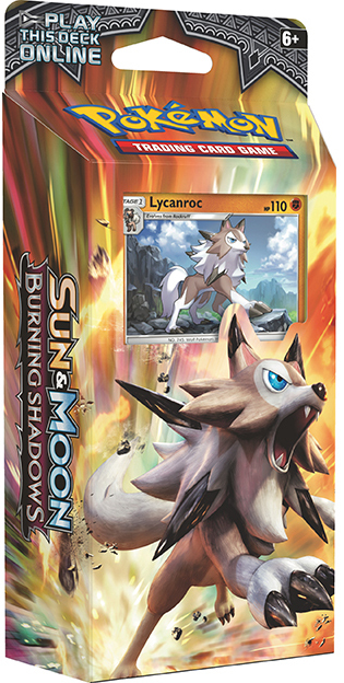 Pokemon TCG Burning Shadows Theme Deck: Lycanroc image