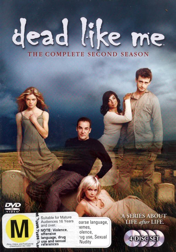 Dead Like Me - Complete Season 2 (4 Disc Set) on DVD image