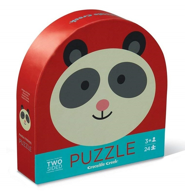 Crocodile Creek: Two-Sided Puzzle - Panda Friends