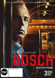 Bosch Season 4 on DVD