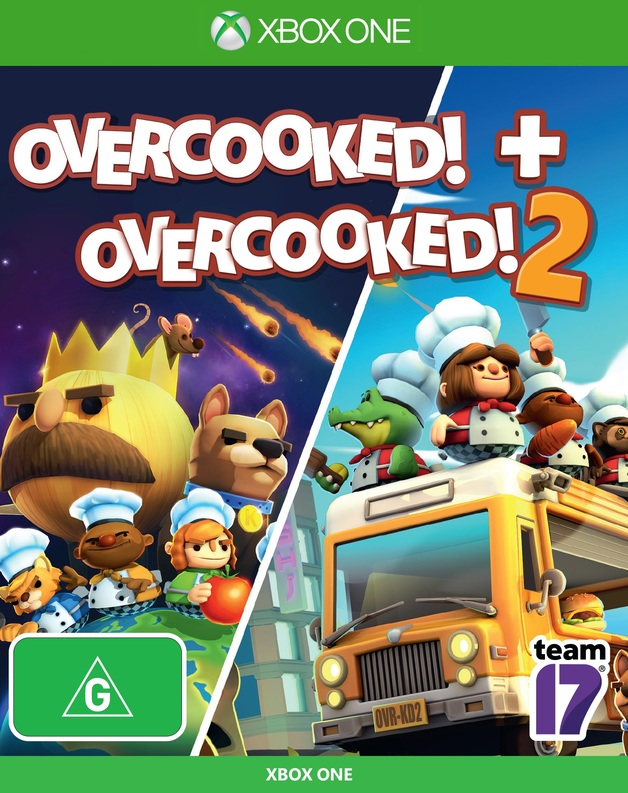 Overcooked + Overcooked 2 Double Pack for Xbox One