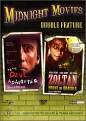 To The Devil A Daughter / Zoltan, Hound Of Dracula on DVD