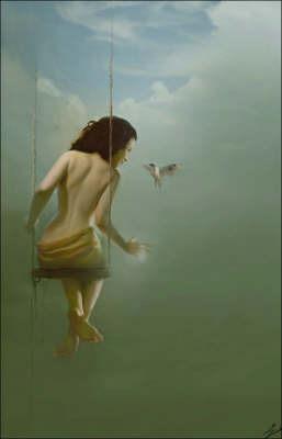 Sleeping Helena by Erzebet Yellowboy