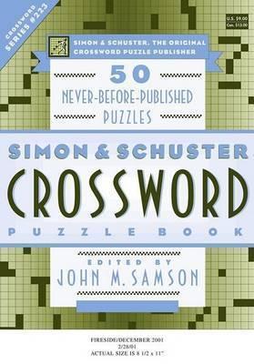 Simon & Schuster Crossword Puzzle B by SAMSON