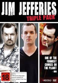 Jim Jefferies Triple Pack on DVD