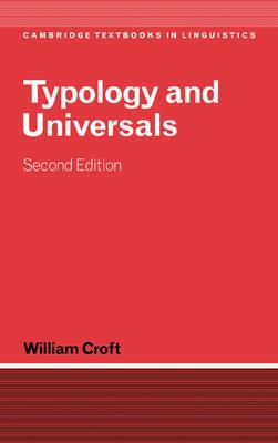 Cambridge Textbooks in Linguistics by William Croft image