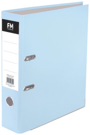 FM: A4 Lever Arch Binder - Pastel Baby Blue