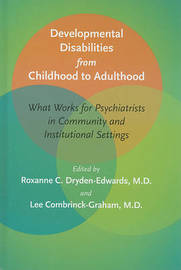 Developmental Disabilities from Childhood to Adulthood image