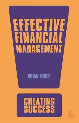 Effective Financial Management by Brian Finch
