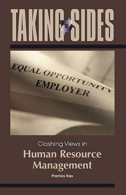 Clashing Views in Human Resource Management by Pramila Rao image