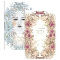 Papaya: Sketch and Scribble Notebook Set - All for Love