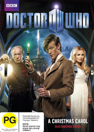 Doctor Who: A Christmas Carol on DVD