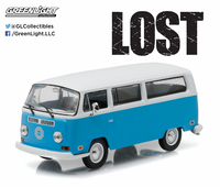 """1/43: Volkswagen Type 2 """"Dharma"""" Van - Diecast Model image"""