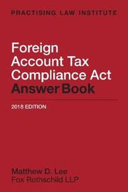 Foreign Account Tax Compliance ACT Answer Book image